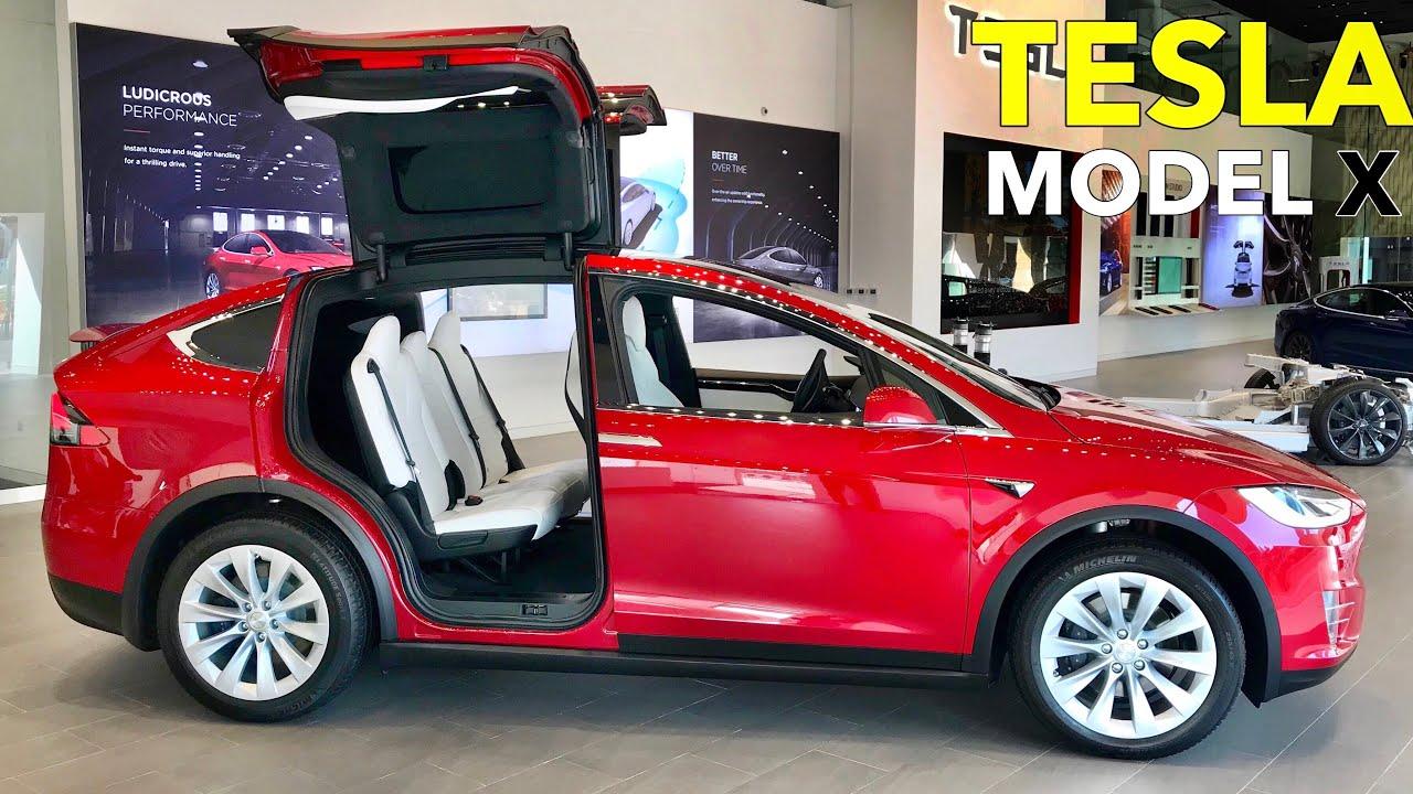 2021 Tesla Model X World S Fastest Safest Suv Visual Review Youtube