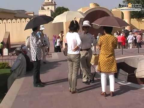 Visit to the Jantar Mantar - in Jaipur