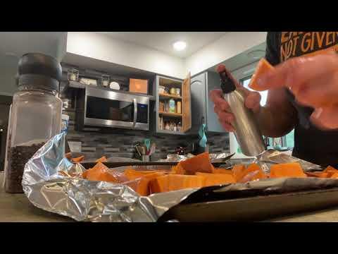 Wisdom Wednesday- Easy Sweet Potatoes