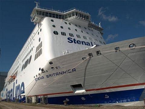 Worlds Largest Ferry - Stena Britannica - YouTube