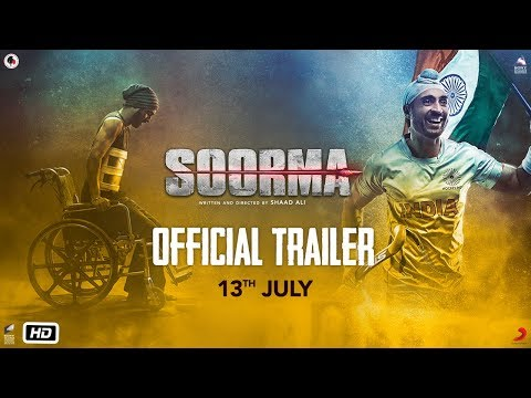 Soorma | Official Trailer | Diljit Dosanjh | Taapsee Pannu | Angad Bedi