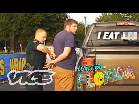 Getting Arrested for a Sticker on His Car | WTFLORIDA