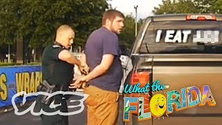 Getting Arrested for a Sticker on His Car - WTFLORIDA