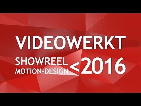 VW Showreel Motion Design  2015-2016