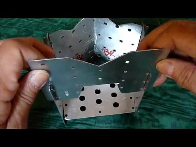 DIY Cheap Backpacking Firebox Stove A Survivalists Dream VIDEO