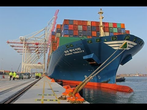 Container Ship UnBerthing Using Bow Thruster