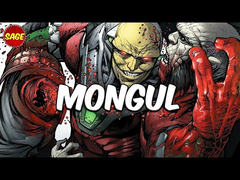 "Who is DC Comics Mongul? Can ""Strong-Arm"" a whole Lantern Corps!"