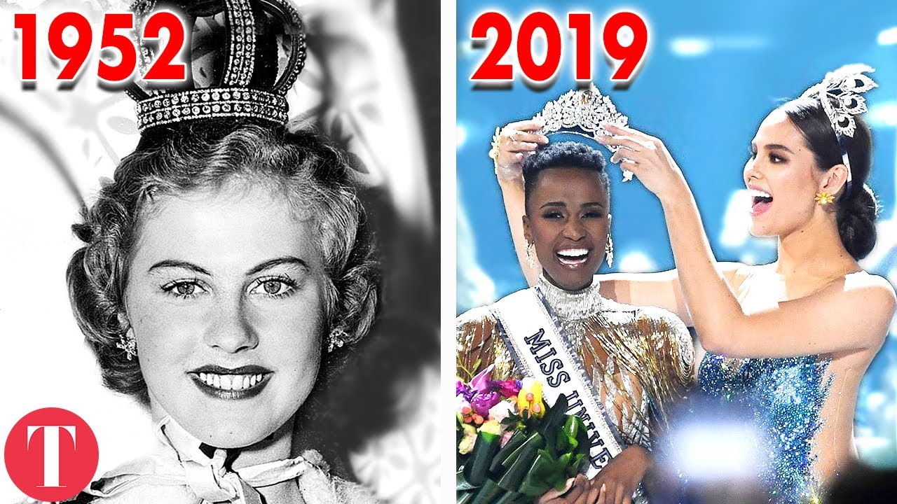 Како изгледал изборот за Мис Универзум низ годините?