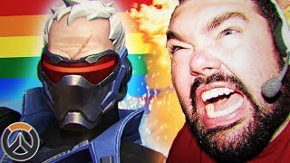 Overwatch Soldier 76 Is Gay And Gamers Are MAD
