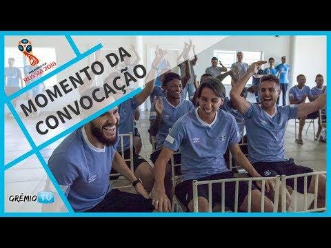 O momento da convocação do zagueiro Geromel l GrêmioTV