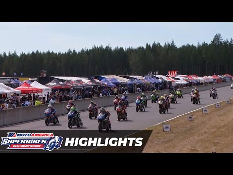 HONOS Superbike Race 1 Highlights at The Ridge 2020