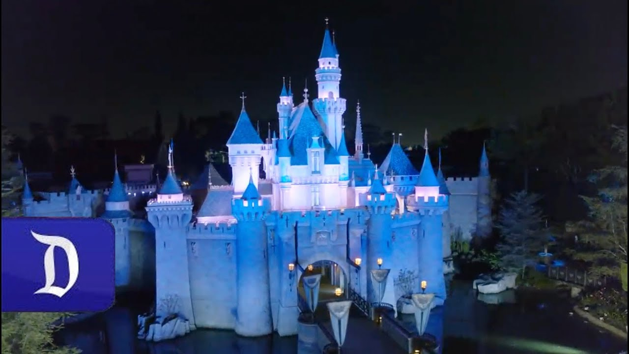 Disneyland's Sleeping Beauty Castle reappears with vibrant