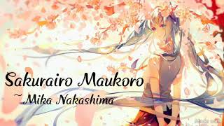 Gambar cover Sakurairo Maukoro (桜色舞うころ) English Lyrics ~ Mika Nakashima