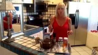 Homemade Spicy Ginger Turmeric Tea Recipe