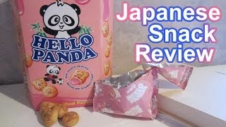 Hello Panda Strawberry Japanese Candy Snack Review