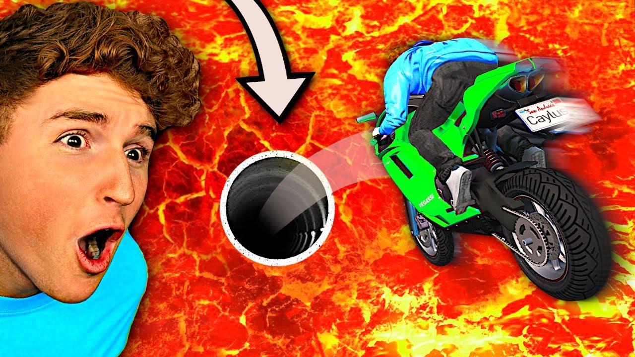 99.8% Unbeatable JUMP THROUGH HOLE Challenge In GTA 5! (Mods)