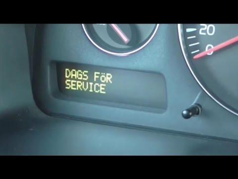 motorsystem service erfordras v70 släcka