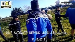 [ALERTE] | Intervention d'une avocate contre la gendarmerie à Auchan Le Pontet
