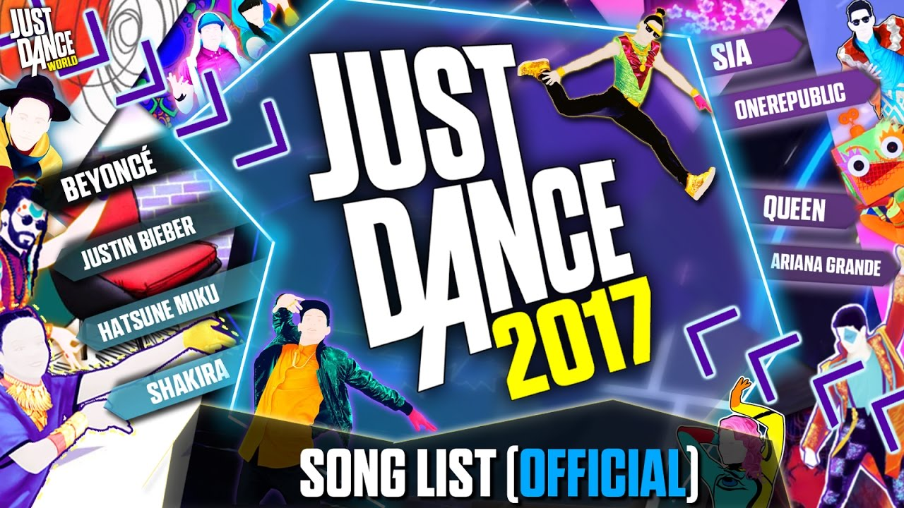 Just Dance Game For Xbox 360 : Just dance 2017 song list official complete youtube