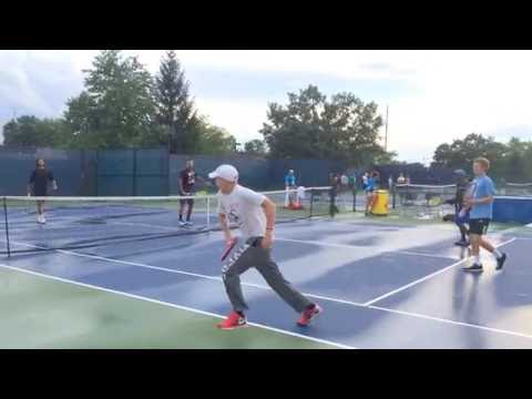 Nick Kyrgios Practicing - Western And Southern Open 2016