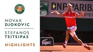 Download Novak Djokovic vs Stefanos Tsitsipas - Final Highlights I Roland-Garros 2021