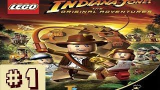 LEGO Indiana Jones - La Trilogie originale - Episode 1 Le Temple perdu - [FR]