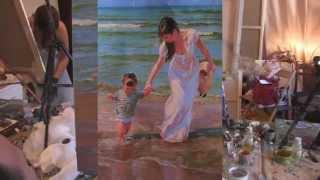 Урок живописи Игоря Сахарова! ВСЕ ПОЛНЫЕ ВИДЕО ИГОРЯ САХАРОВА!