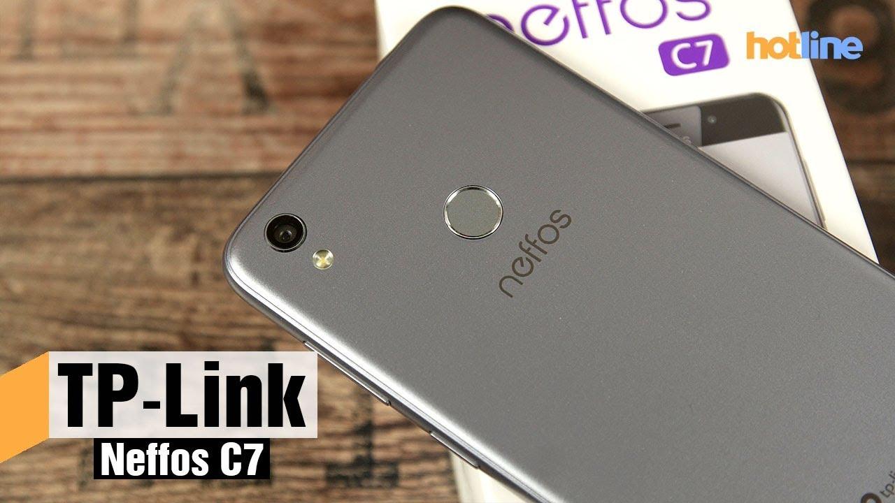 TP Link Neffos C7 — обзор смартфона