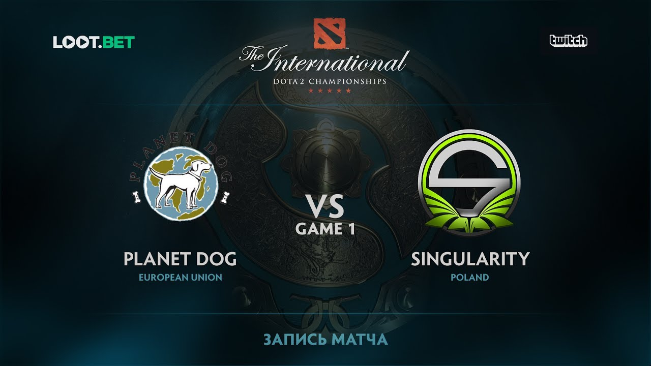 Planet Dog vs Singularity, Game 1, The International 2017 EU Qualifier