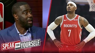 Carmelo must accept a new role & 'show more leadership skills' — Haynes | NBA | SPEAK FOR YOURSELF