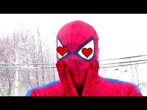 Spiderman in Spidergirl (Человек Паук и Женщина Паука)