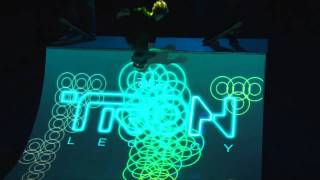 TRON: LEGACY & ENESS - 3D Light Projection - Available on Digital HD, Blu-ray and DVD Now