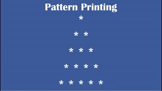 C Practical and Assignment Programs-Pattern Printing 6