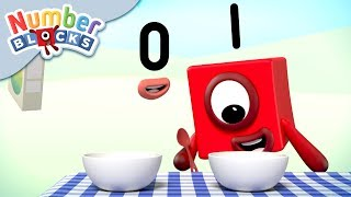 Numberblocks - What is One Less Than One?! | Learn to Count
