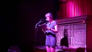 Caitlin Myer - Barely Published Authors - Litquake 2014