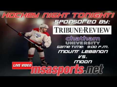 MSA Sports Spotlight - Hockey:  Mount Lebanon vs. Moon  1-30-17