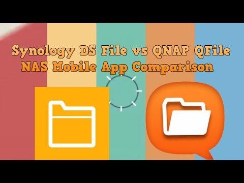 Synology DS File vs QNAP QFile for NAS   Mobile App Comparison