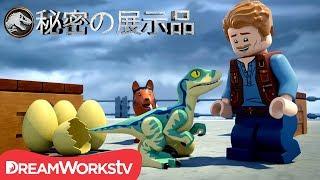 映画『ジュラシック・ワールド』の前日談が、新シリーズ「LEGOジュラシッ...