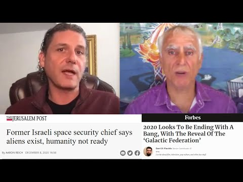 Israeli Ex-Mil Space Chief: US & ALIEN Galactic Federation Deal (Human Experiments) & Mars Base