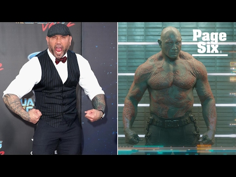 Dave Bautista spent over an hour every day becoming Drax for
