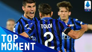 Spectacular long-rage effort from Malinovskyi! | Atalanta 3-2 Lazio | Top Moment