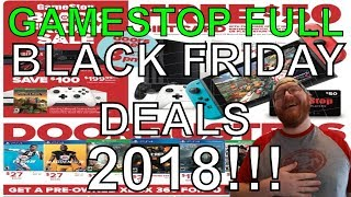 Gamestop Full Black Friday 2018 Deals