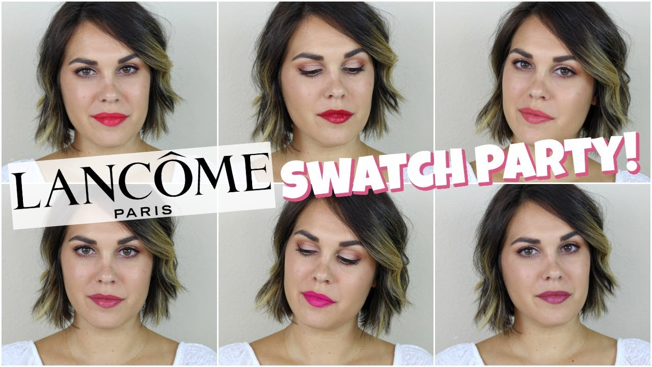 Lancome Matte Shaker Amp L Absolu Rouge Swatches Amp Review