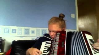 Tamara playing highland cathedral