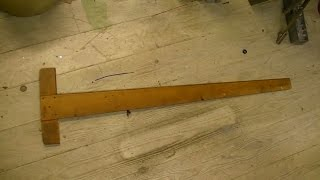 Fixing and Squaring a T Square: http://miscpro.com/2013/09/13/fixin...