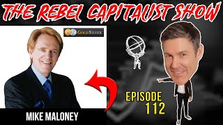 Mike Maloney (The Great Reset End Game, Inflation, Deflation, US Dollar, Bitcoin, Gold)
