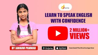 Learn to Speak English With Confidence | Janhavi Pawar