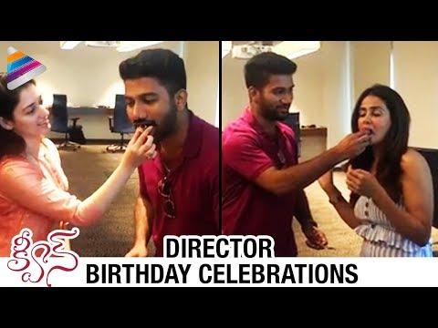 Tamanna Celebrates Queen Director Prasanth Varma Birthday   Parul Yadav   #Queen   Telugu FilmNagar