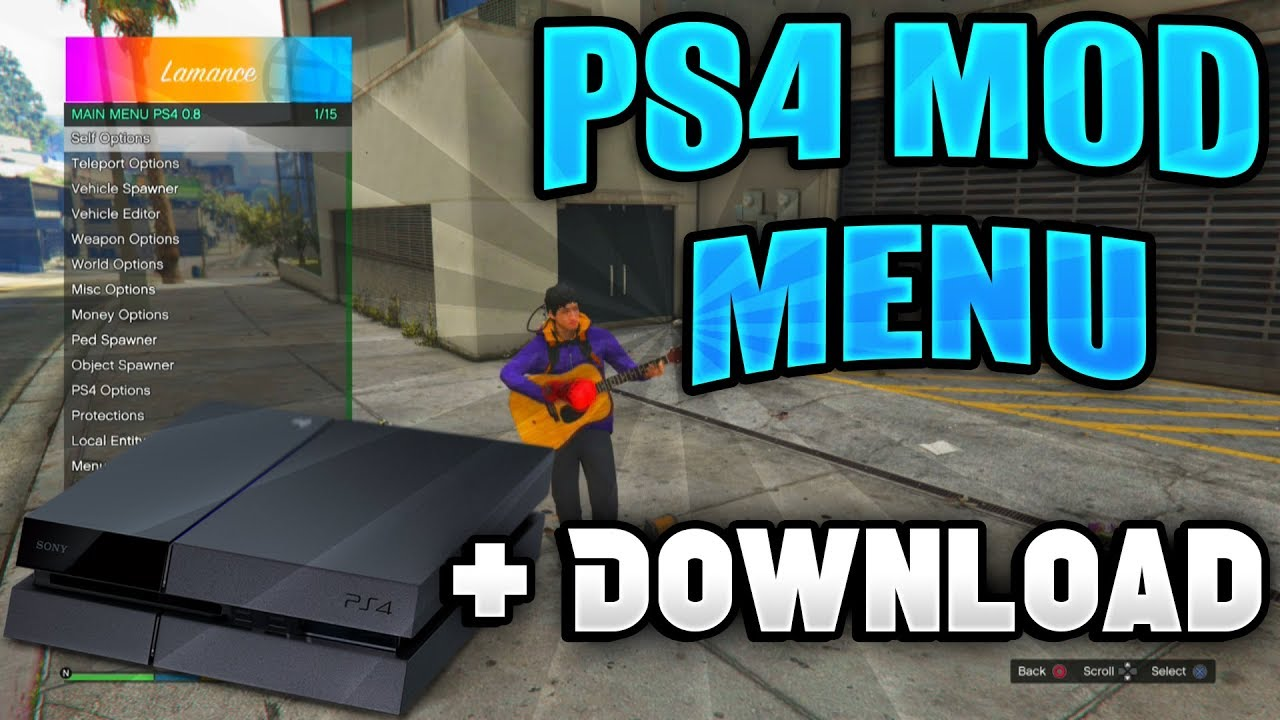 Car mods for gta 5 ps4 | How to get mods for GTA V for a PS4
