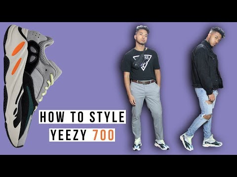 How To Style Yeezy Wave Runner 700 || Unboxing, Review & Sizing